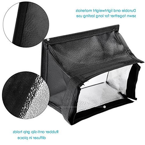 Neewer 5.9x6.7 inches/15x17 centimeters Camera Collapsible Softbox for and CN-216