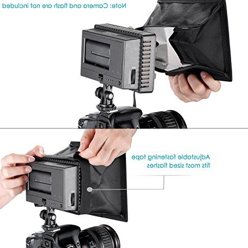 Neewer 5.9x6.7 inches/15x17 Camera Diffuser Softbox and