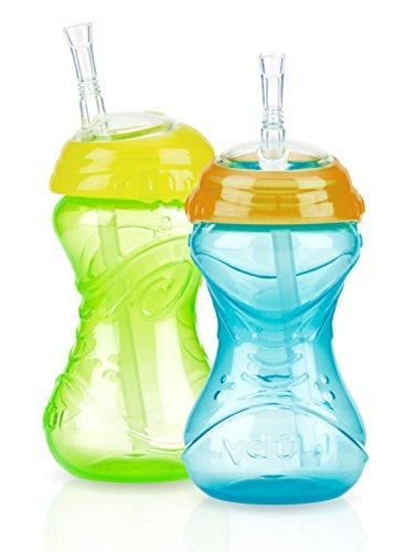 Nuby CLICK-IT No-Spill Flexi-Straw Cup - 2