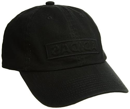 adidas Men's Ultimate Plus Relaxed Fit Cap, Black, One Size
