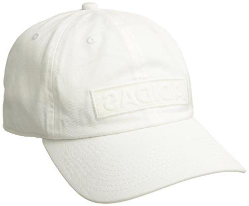 adidas Men's Ultimate Plus Relaxed Fit Cap, White, One Size