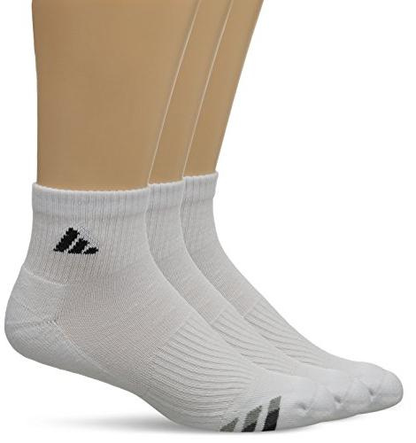athletic cushioned quarter socks