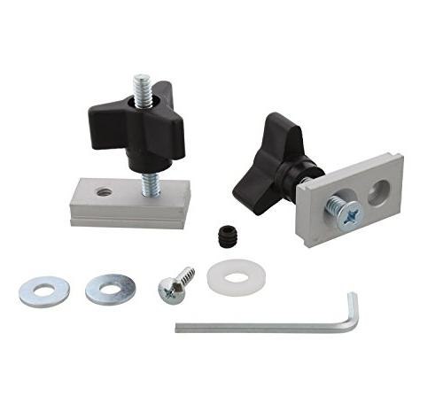 DCT Miter Track Slot Fixture Hardware Kit – Table Saw Rout