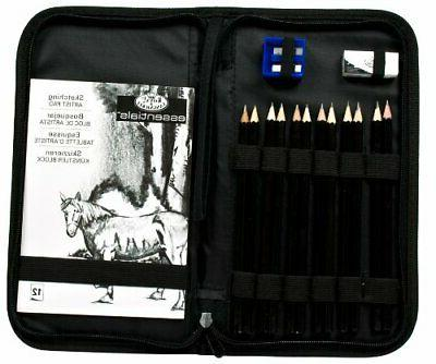 Set Zippered Carrying Case