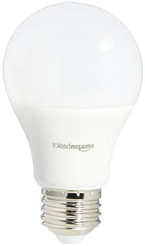 AmazonBasics 75 Soft White, Non-Dimmable, LED Bulb 2-Pack