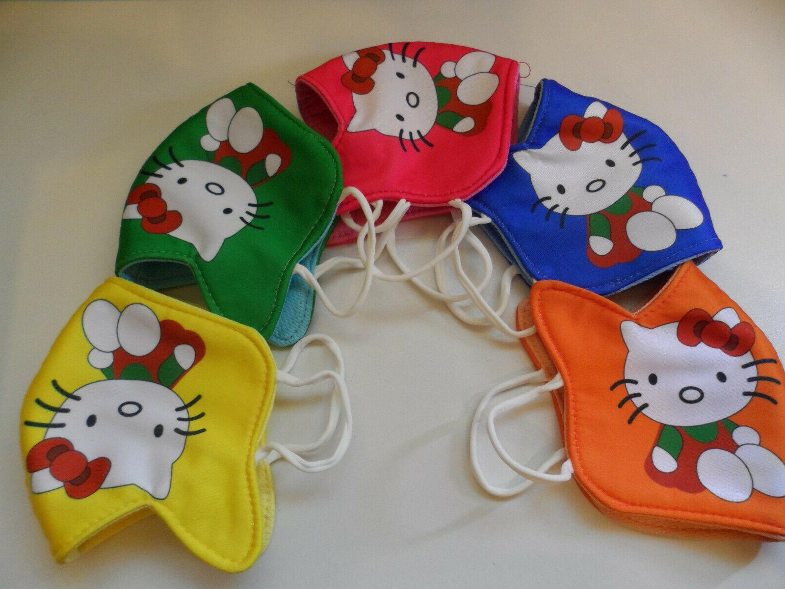 Face Mask Cotton Washable Reusable  for KID UNDER 10 YEARS O