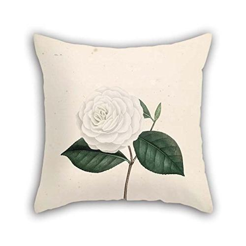 flower throw pillow covers