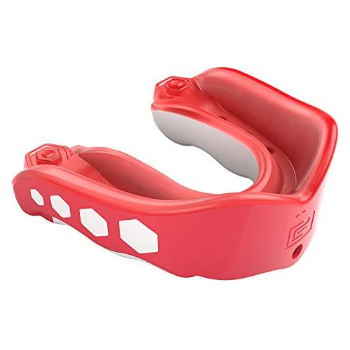Shock Doctor Gel Max Flavor Fusion Mouthguard Red YTH