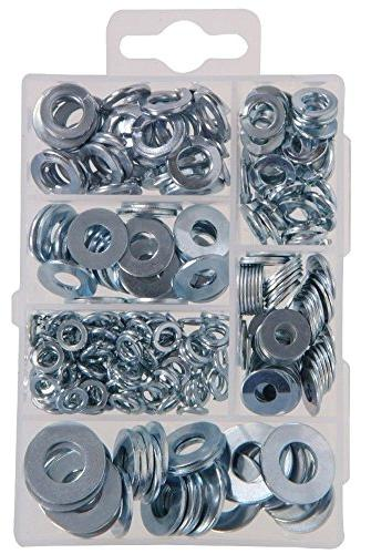 The Hillman Group 591521 Small Flat and Lock Washer Assortme