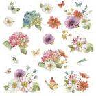 Lisa Audit GARDEN BOUQUET WATERCOLOR WALL DECALS 20 Floral S