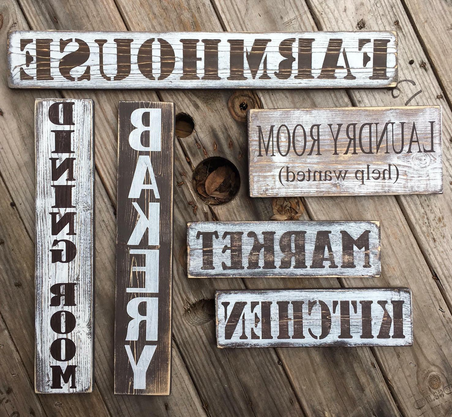 Family wooden gifts under home oracal