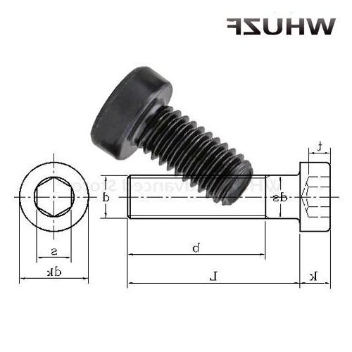 M5 M6 M8 M10*8/<font><b>10</b></font>/12/16/20 8.8 Grade DIN7984 Bolt Cap <font><b>Cup</b></font> Allen Hex Socket Head Screw