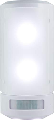 GE Motion Sensing LED Wall Sconce, White