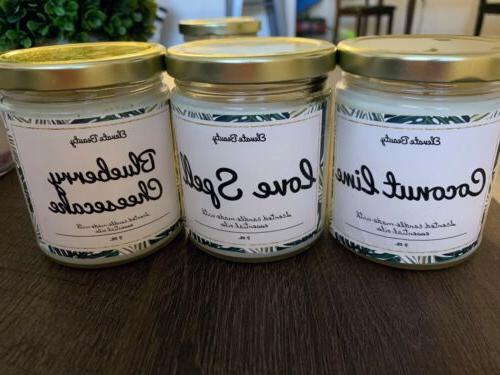 natural soy candles homemade gifts under 10