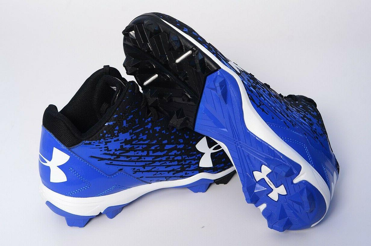 *NEW* Under UA Adult Molded Cleats 10!
