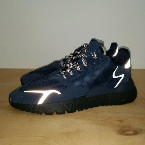 Adidas Nite Reflective Navy Retail MSRP Size 10