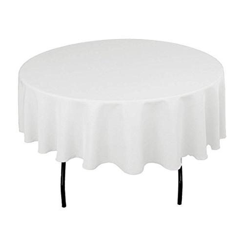 polyester tablecloth round