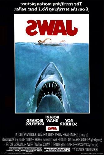 poster revolution 24 inch 36 inch jaws mint