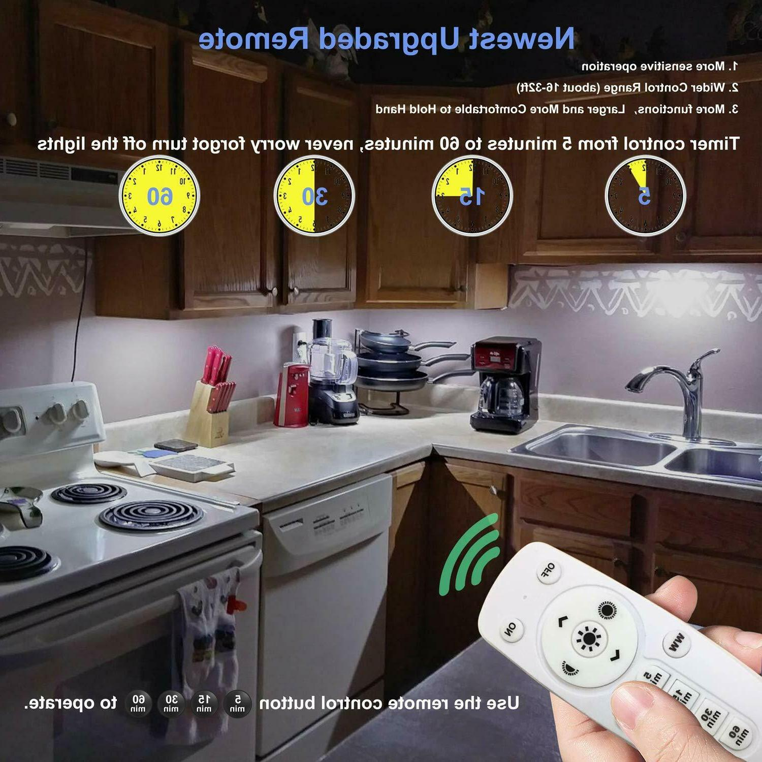 Remote Control Cabinet Light Dimmable Wireless Counter