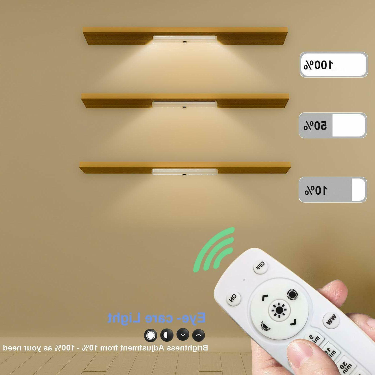 Remote Control Cabinet Dimmable Wireless Counter Lighting B