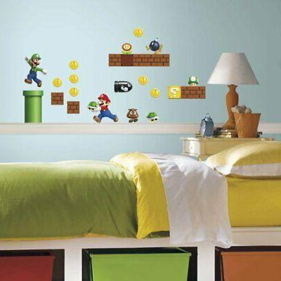 RoomMates Nintendo Build A And