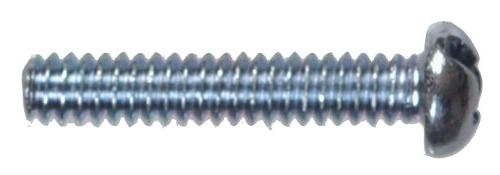 round head combo machine screw