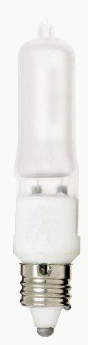 Satco S1916 120V 100-Watt T4 E11 Base Light Bulb, Frosted