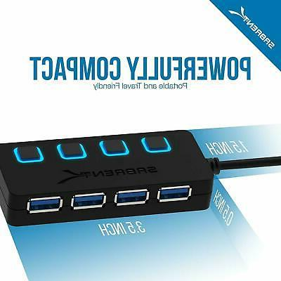 Sabrent USB 3.0 Switches and
