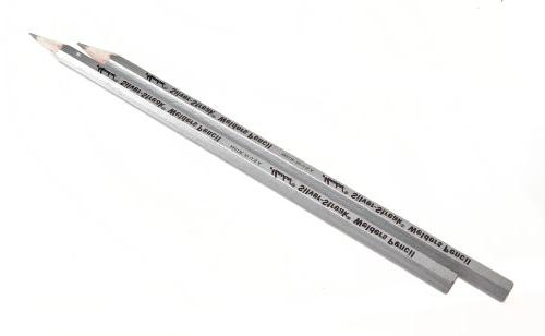 Silver Lead Welder's & Fitter's Marking Pencil - Forney Indu