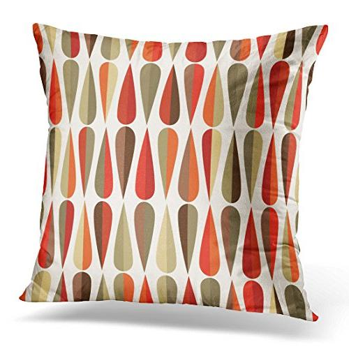 throw pillow cover mid century