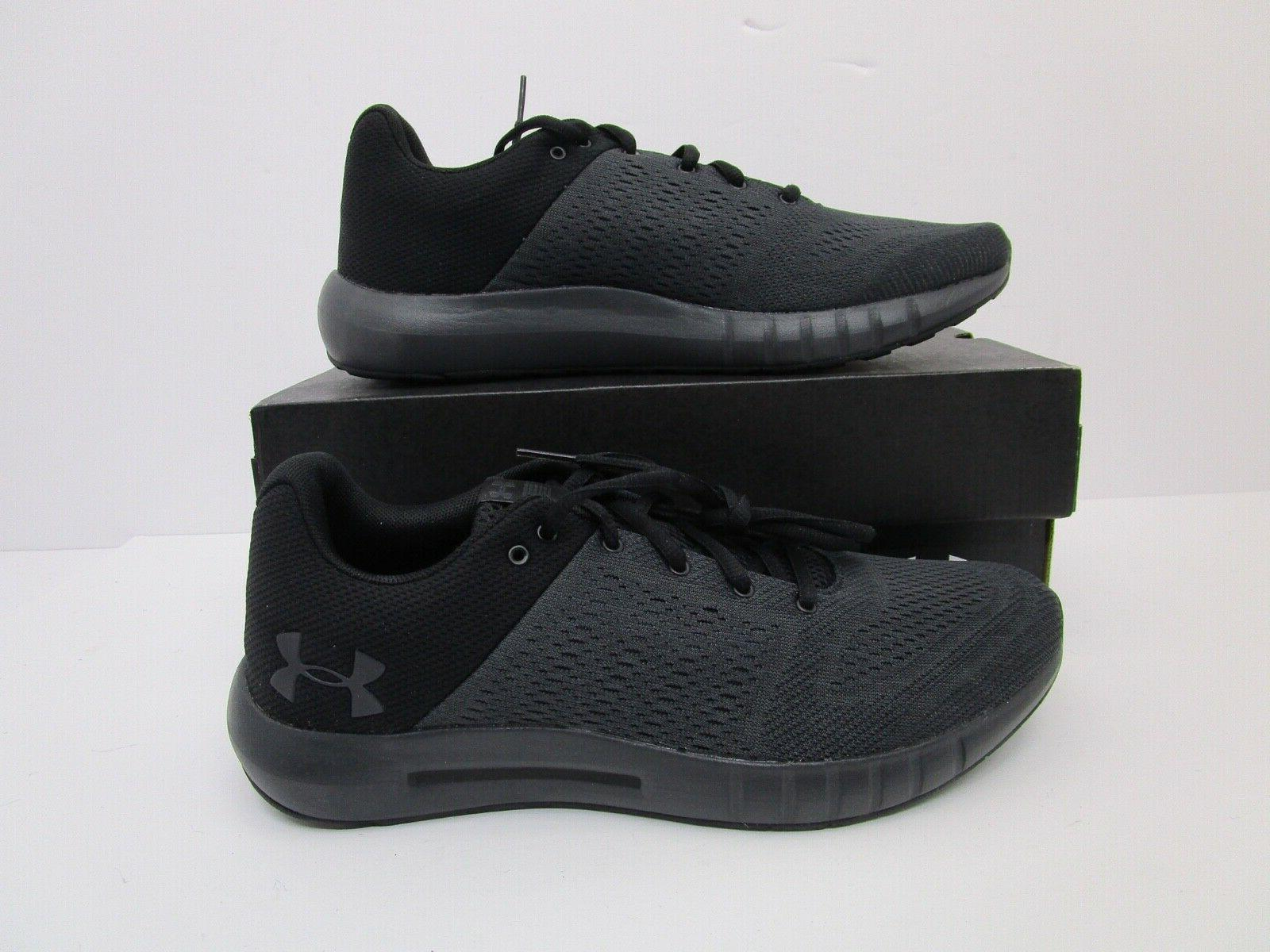 ua micro g pursuit running training shoes