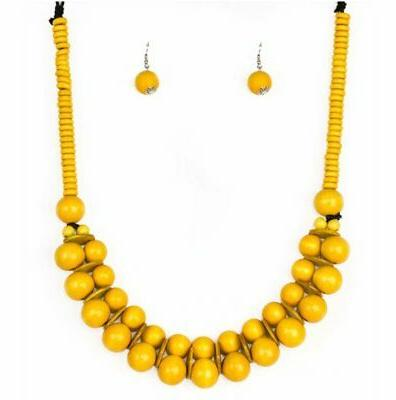 under 10 caribbean covergirl yellow necklace