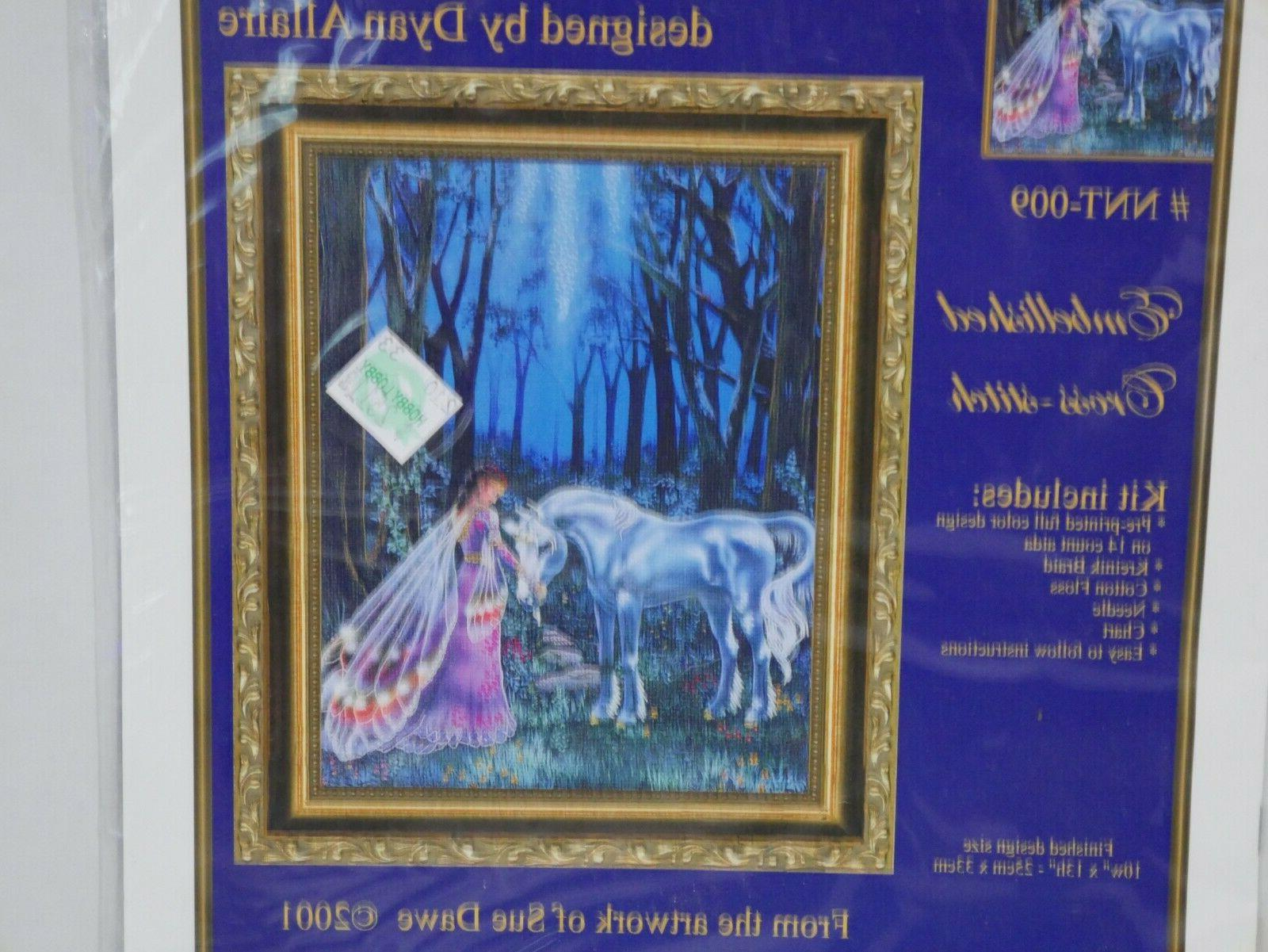 Under Faerie Embellished Cross Stitch - 14 Count