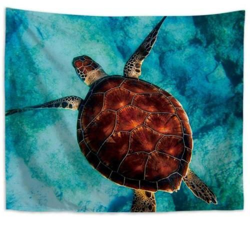 US 10 pieces room decor water fish sealife tapestries