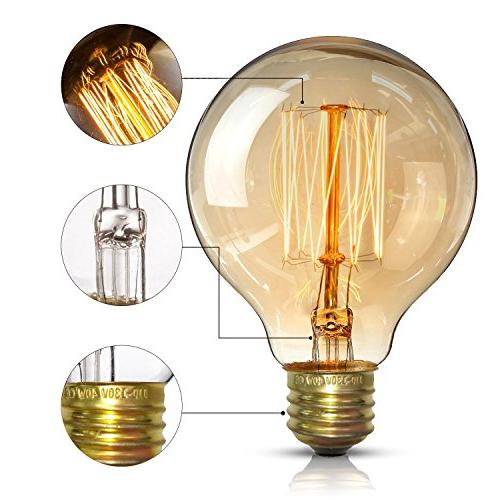 Vintage Bulbs - Edison - for Sconces, 2 Pack