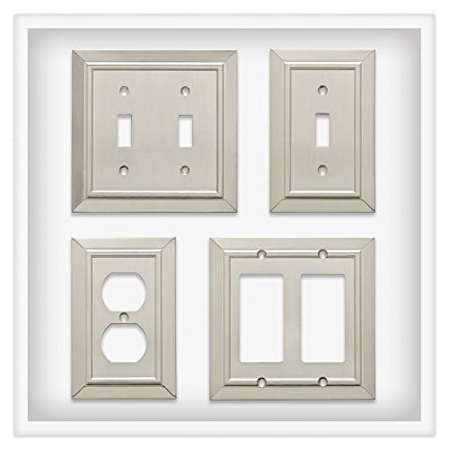 Franklin Brass Architecture Double Wall Nickel