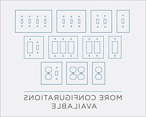 Architecture Double Switch Wall Plate/Switch