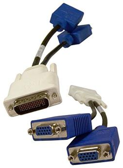 LFH / DMS-59 to Dual VGA Y-Splitter Cable 338285-008