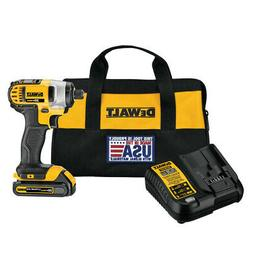 DEWALT 20-Volt Lithium Ion  1/4-in Cordless Variable Speed I