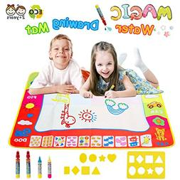 Magic Water Doodle Mats Water Drawing Mat Large 32x24in Pain