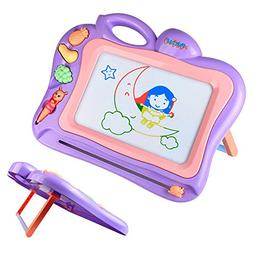 Tomons Magnetic Drawing Board , Portable Doodle Board - Stan
