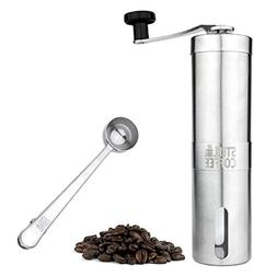 Manual Coffee Grinder - Professional Heavy Duty Stainless St