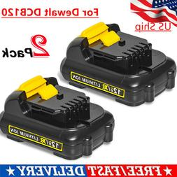 DeWALT 12V MAX Lithium Ion Battery Pack