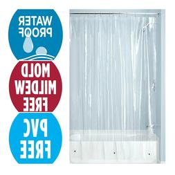 InterDesign PEVA 3 Gauge Shower Curtain Liner - Mold/Mildew