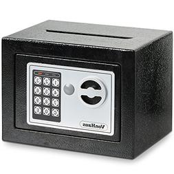 VonHaus Solid Steel Safe Small   6.3lbs Compact Electronic D