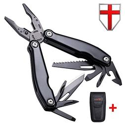 Multitool with Knife and Pliers - Utility Set of Mini Tools