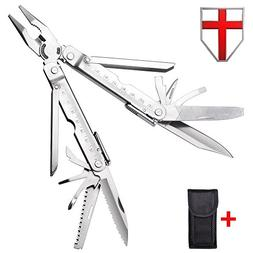 Best Multitool with Knife and Pliers - Utility Mini Tool wit
