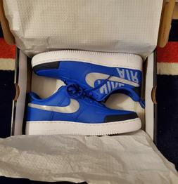 NEW Nike Air Force 1 '07 LV8 2 Low Under Construction Blue B