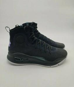 New Under Armour Curry 4  Basketball Shoes Black Size 10  no