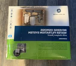 New, GE Reverse Osmosis Water Filtration System Filter Under